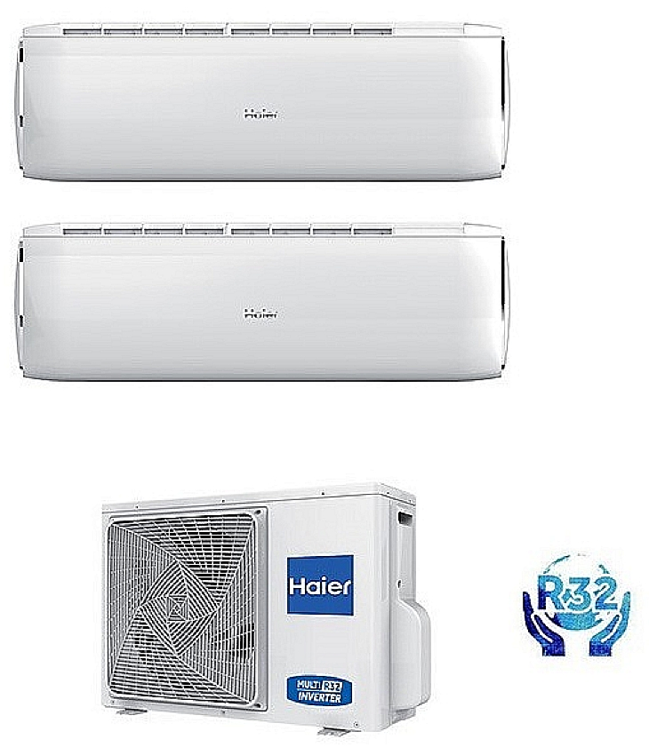 Klimatizace HAIER FLEXIS multi 2-1 (2U50S2SF1FA + AS 25 + AS 25)
